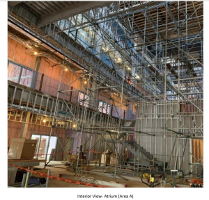 The new Banneker structure is mostly built, with updates to the interior beginning this winter.